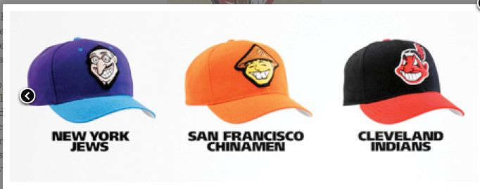 racist ball caps